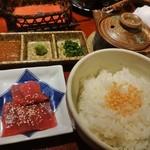 築地 傳 - まぐろ茶漬け(16-08)