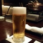 蟹工船 - 生ビール(1010円)