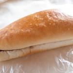 菱屋パン店 - コッペパン アンコマーガリン
