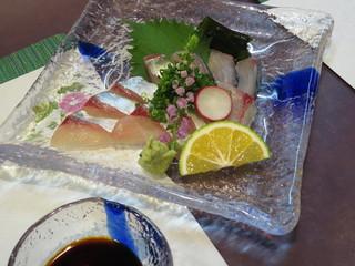 旬菜・季彩食楽 - 活鯖 1500円(ハーフ)