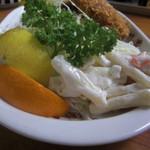 食堂 広島屋 - 食堂広島屋 マカロニサラダ