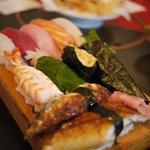 割烹 田舎 - 特上寿司2