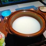 54670715 - 佐渡の黒豚の白湯しゃぶしゃぶ