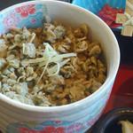小松家 - しじみご飯。