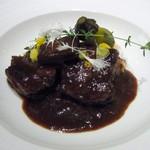 ティアラス - 牛肉の赤ワイン煮