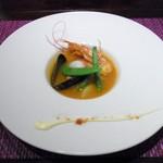 ティアラス - 魚介類のブイヤベース