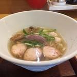 和ヌードル 鈴七 - 淡麗旨塩(700円)