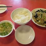 中華料理 龍鳳酒家 - 五目野菜炒め定食_2016/07