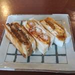 コンパル - 3種類のサンドイッチ