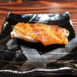 野口太郎 - 播州地鶏の手羽先、炭火焼き
