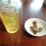 梅屋 - ジャスミンティーとゴーヤの醤油漬け