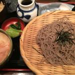 54677370 - 辛味大根ざる蕎麦定食 713円