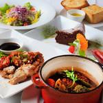 yebisu gogo cafe - ランチは季節食材をつかって