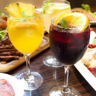 焼肉屋でも本格的なシードルやワインが楽しめます!