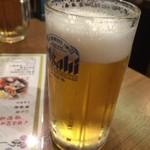 若竹 - 生ビール
