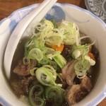 若竹 - 牛スジ塩煮込み