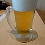 日本酒スローフード 方舟 - ランチビール