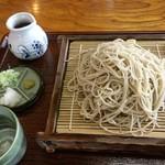 沙羅樹庵 - 料理写真:「もりそば」(700円)