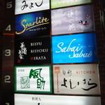 美酒美食 平田 - 三ノ宮東門の路地を少し入ってビルの3階です。