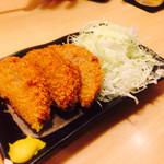 居酒屋 あゆみ - ハムカツ