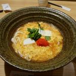 54689130 - 「明太あんかけ玉子とじのおうどん」1380円