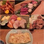 さかなや - 松本の晩ご飯は信州地料理=3=3=3 何処か良いとこはないかな〜と探してこちらへ☆彡 刺身盛り合わせ1人前(800円)や馬刺し盛り合わせ(1800円)♪ 新鮮お刺身にとろけるようなお肉で美味しかった!