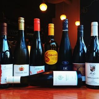 ドイツワインをはじめ、リースリング種のワインが豊富!