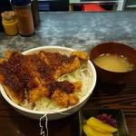 のぶ幸 - ソースカツ丼♪