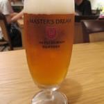 タシデレ - 生ビール サントリープレミアムモルツ マスターズドリーム
