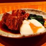 SHO-CHU BAR 高山 - 鹿児島黒豚角煮