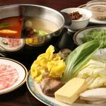 ◆米澤豚一番育ちしゃぶしゃぶ肉のセット