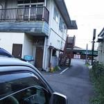 baru Publo - お店奥の駐車場