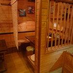 笹島大陸 - 半個室。テーブルくっつけて8席