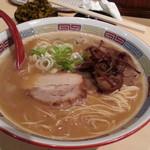 北海道恵比寿 - 醤油豚骨SOBA740円