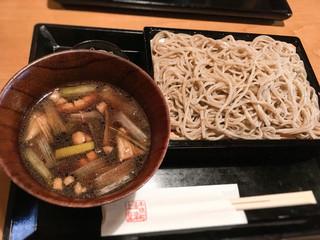 木挽町 湯津上屋 - 鴨汁