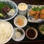 司 - 鰹5切れ&一口カツの司定食(2016,6)