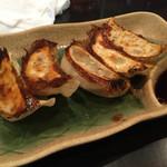 環七ラーメン 周麺 - 餃子。