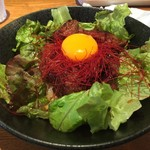 ボルケーノキッチン 大阪福島本店 - ハラミボルケーノ(900円)