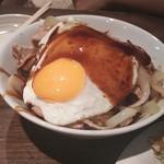 武酉 - 豚玉丼 ソース