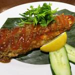 マレーチャン - マレー焼魚 1200円