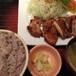 大戸屋 - 料理写真:チキンもろみ焼き定食