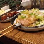 鶏飯 八事バード - ネギ塩せせり 160円円/本