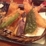 竹むら - 天ぷら盛り合わせ