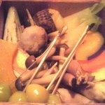 5471492 - 季節の蒸し野菜UP.JPG