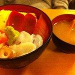 築地 海宝館 勝鬨寿し 総本店 - 海鮮丼withカニ汁