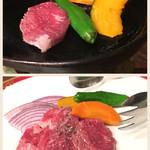 メルパルク - 赤牛カルビの鉄板焼き