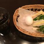 Maruthinafuranka - サンドイッチゆで卵☆アイスコーヒーチョイス