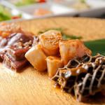 華ぱやん - 胃袋4種盛