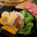 華ぱやん - 焼野菜盛