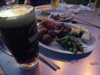 タカシマヤ ファミリービアガーデン - 暗くなっても飲む!最後まで食べる!